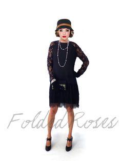 20s flapper dress long