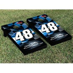 Jimmie Johnson Racing Flag Cornhole Game Set - $249.99