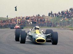 Jim Clark, Lotus-Cosworth, Zandvoort, 1967, 3