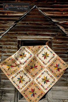 Cabin Comforts, Designed by CS Cottonpicker's Quilt Shop and Quiltworx.com