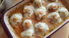 sauguad essen mit Pampered Chef®: Hackbällchen in Tomatensoße in der Ofenhexe von Pampered Chef®