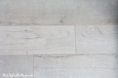 - The Lilypad Cottage - 'Forestry Mix in White Washed  by Armstrong Flooring'....not only is it the perfect rustic white washed wood look I was going for, but it is going to be so much more durable than real wood would have been.