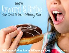 Emotional eating can become a serious problem as your child gets older. Learn how to start offering non-food rewards and bribes now so they don't develop an emotional attachment to food.