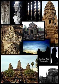 Angkor Wat, Cambodia  http://cambodia.threeland.com