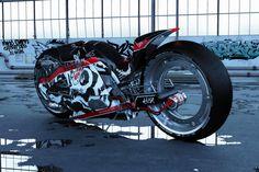 Mako Shark Concept Bike. Design and render by Ayzen Shiro :)