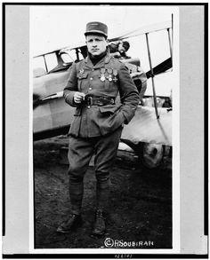 Lafayette Escadrille, Lt. Raoul Lufbury: World War I Flying Ace Raoul Lufbery - Learn More - http://connecticuthistory.org/world-war-i-flying-ace-raoul-lufbery/