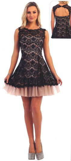 Prom Dresses Evening Dresses UNDER $100<BR>afa40102<BR>Lace scallop bodice with scattered bead work in fit