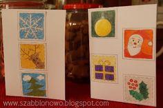 DIY Christmas Card, Free Christmas Patterns, Free Christmas Templates, Free Christmas Printables on szabblonowo