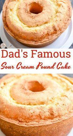 Pound Cake Recipes, Easy Cake Recipes, Baking Recipes, Best Pound Cake Recipe Ever, Gluten Free Pound Cake, Kitchen Recipes, Food Cakes, Cupcake Cakes, Pound Cake Cupcakes