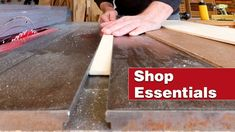 The simplest table saw crosscut sled on YouTube. Essential woodworking shop project. - YouTube Table Saw Crosscut Sled, Table Saw Sled, Diy Table Saw, Woodworking Workshop, Woodworking Shop, Woodworking Projects, Cross Cut Sled, Wood Jig, Diy Shops