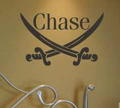 Pirates Wall Decal, Pirates Wall Stickers, Pirates Bedroom Decor