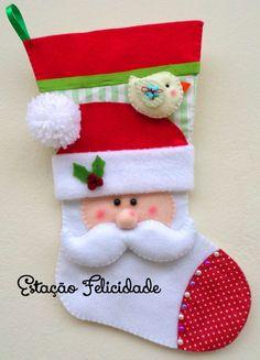 Christmas Favors, Christmas Ornament Crafts, Christmas Goodies, Winter Christmas, Felt Crafts, Christmas Crafts, Christmas Decorations, Holiday Decor, Xmas Stockings