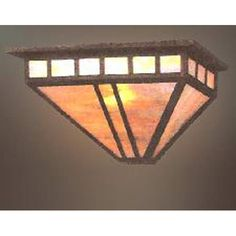 Rosewood Mission Wall Sconce $110.