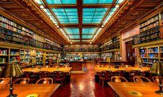 Читальный зал публичной библиотеки Нью-Йорка. Фото: Warren Weinstein. 500px. Сreative Сommons. (CC0).