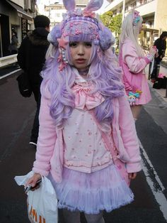 How I should have dressed with purple hair. #missedopportunity