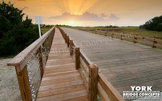 Timber Golf Course Bridge: Bald Head Island - Bald Head Island, NC
