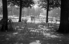 Jardin du Luxembourg 1957 by Inge Morath