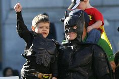 These 75 Iconic Photos Will Define The Century So FarSan Francisco Comes Together To Help Batkid Save City