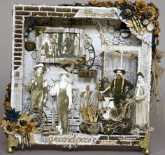 The Dusty Attic Blog: Grandpa's Shadow Box - Rachelle Sigurdson