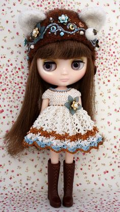 Middie Blythe Beautiful Kitty Set by leshan on Etsy