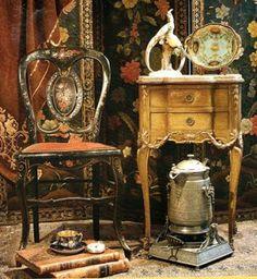 Bellas antiguedades del siglo pasado