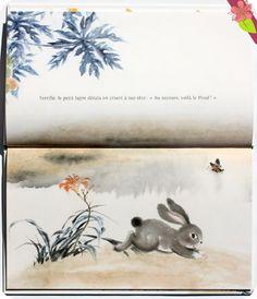 Le Plouf Texte de Guillaume Olive Illustrations de He Zhihong Publié en 2015 par Les éditions des éléphants