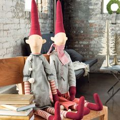 Tons of great decorating ideas for Christmas. Design Innova: Ideias Inspiradoras do Natal nos Países Nórdicos