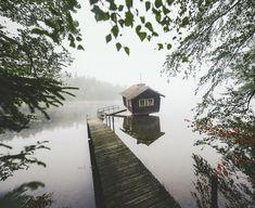 """55.8 k gilla-markeringar, 435 kommentarer - Konsta Punkka (@kpunkka) på Instagram: """"~ Worlds coolest sauna?"""" Finland, Sweet Home, Around The Worlds, Cabin, Photo And Video, Landscape, Cool Stuff, House Styles, Nature"""