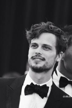 Matthew Gray Gubler, male actor, celeb, beard, butterfly, powerful face, sexy, funny, portrait, b/w