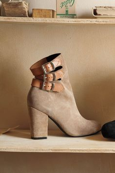 Buckled Mid-Boots - Anthropologie.com