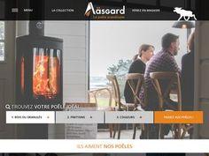 Cliquez-ici pour découvrir les poêles à bois et les inserts à cheminée proposés par la marque Aäsgard.