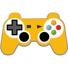 Silhouette Design Store - View Design #24922: game controller
