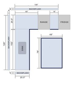 How To Measure A Countertop Figure Square Footage Granite