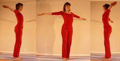 5 tibétains: 5ème tibétain: danseur derviche (cet  exercice est parfois proposé en début de séquence, et non à la fin)
