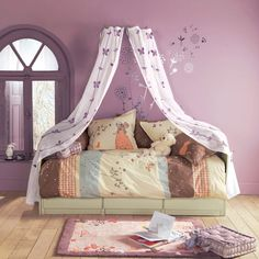 >>Read information on little girl room ideas. Click the link to find out more~~~~~~ The web presence is worth checking out. Bedroom Art, Girls Bedroom, Childrens Bedroom, Bedroom Retreat, Baby Girl Bedding, Ideas Hogar, Teenage Girl Bedrooms, Little Girl Rooms, Awesome Bedrooms