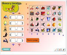 """Busca y localiza"" (Juego de Coordenadas de Primaria) Photo Wall, Gallery Wall, Frame, Probability Games, Maths Area, Teaching Resources, Picture Frame, Photograph, Frames"
