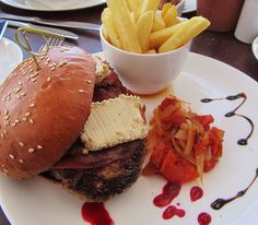 This must be the best in town. Delicious Burgers, Yummy Burger, Knysna, Hamburger, Beef, Good Things, Snacks, Dining, Cruises