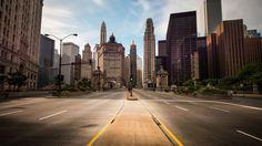 city skyscrapers street lights hd wallpapers download
