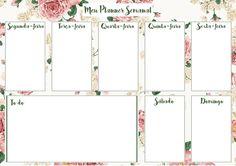 Planner de Mesa Semanal | Blog da Laise
