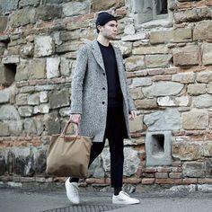 one of Norway finest, Fredrik Risvik, featuring our Dirk Pants • @fredrikrisvik • nordic simplicity