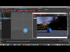 Iluminación Global HDRI en Renderman Maya 2016 Español - YouTube