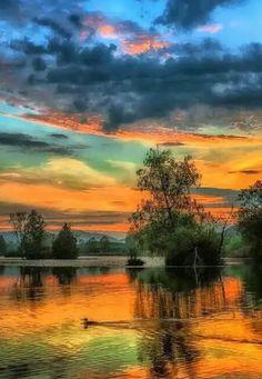 Beautiful sunset landscape more at @ Beautiful World, Beautiful Images, Beautiful Beautiful, Landscape Photography, Nature Photography, Nature Landscape, Sunset Landscape, Beautiful Sunrise, Science And Nature