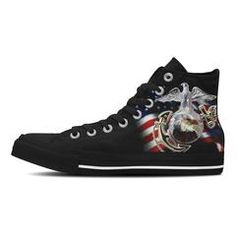d326b5aeeec826 Custom USMC Canvas Shoes or Bags Custom Sneakers