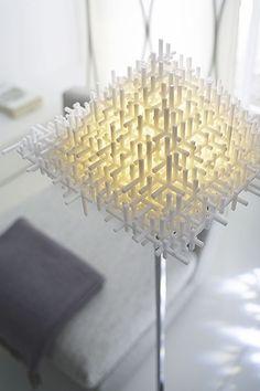 metropolis lamp by Jiri Evenhuis