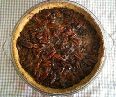"""Chocolate Pecan Pie that is grain free, gluten free and dairy free. (Although I don't consider honey to be """"sugar free"""" as honey IS sugar but this recipe looks like a good one for a holiday for me."""