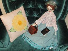 hand made Church doll
