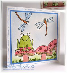Mainly Flowers Independent Stampin' Up! Demonstrator Joanne Gelnar: Three Little Unfrogettable Cards