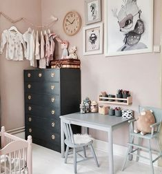 Credit: @kaptensgatan2 nursery inspiration soft tones kids' room more inspiration on #smallable