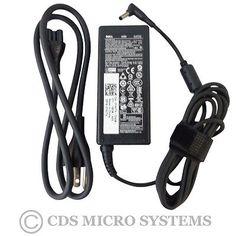 New Genuine Dell 74VT4 G6J41 43NY4 GG2WG Ac Adapter Charger & Power Cord 65 Watt