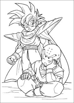 Dragon Ball Z Ausmalbilder. Malvorlagen Zeichnung druckbare nº 73 --> For the top adult coloring books and writing utensils including gel pens, colored pencils, watercolors and drawing markers, go to our website at http://ColoringToolkit.com. Color... Relax... Chill.